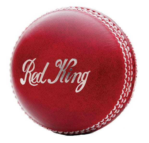 Kookaburra 2pc Red King leather 142gm Cricket Ball