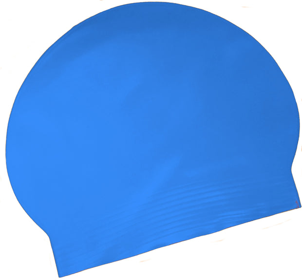 Latex Swim Cap - Royal