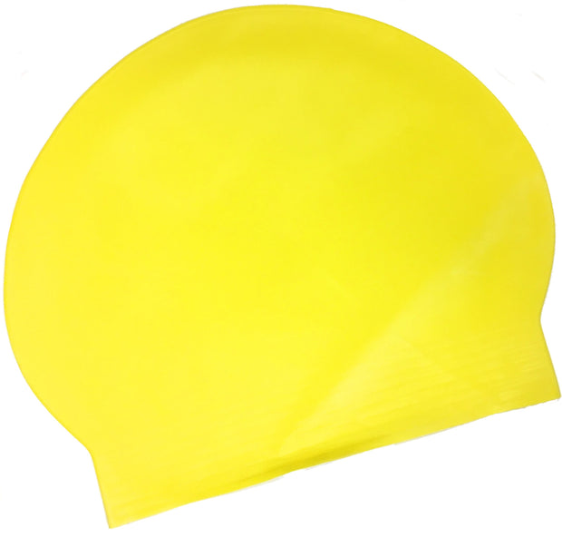 Latex Swim Cap - Yellow