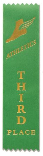 Athletics Award Ribbons (pkt 50) 3