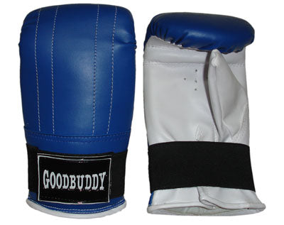 Curved Mitts Synthetic Leather - Large