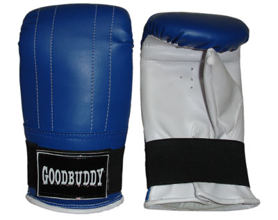 Curved Mitts Synthetic Leather - Medium