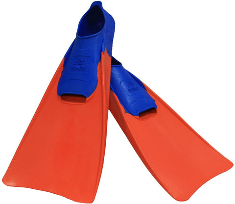 Rubber Training Fins Size 7-9