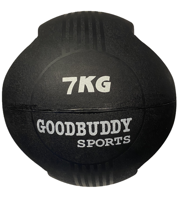 Double Handle - Rubber Medicine Ball 7kg
