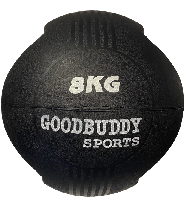 Double Handle - Rubber Medicine Ball 8kg