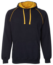 Contrast Hoodie with Colour Piping - Kids
