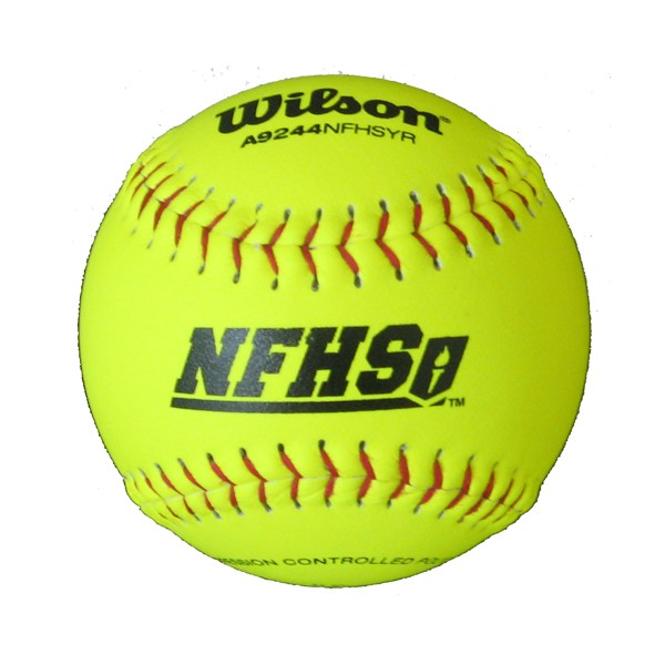 "Softball 12"" - Leather Wilson (.47 Core)"