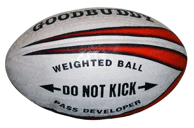 Goodbuddy Weighted Rugby Ball - Pass Developer