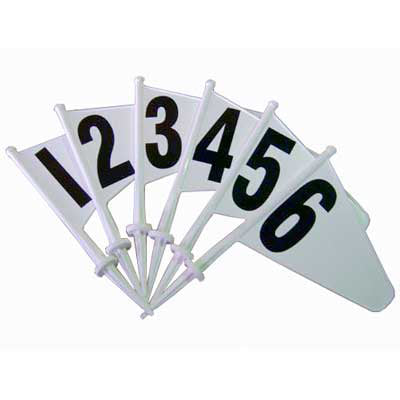 Plastic Marker Flag Set 1-20
