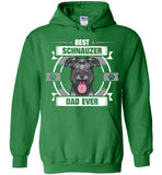 Best Schnauzer Dad Ever T-shirts