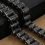 European and American bicycle bracelets Titanium steel personality men's motorcycle chain