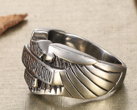 European and American Harley motorcycles stainless steel rings