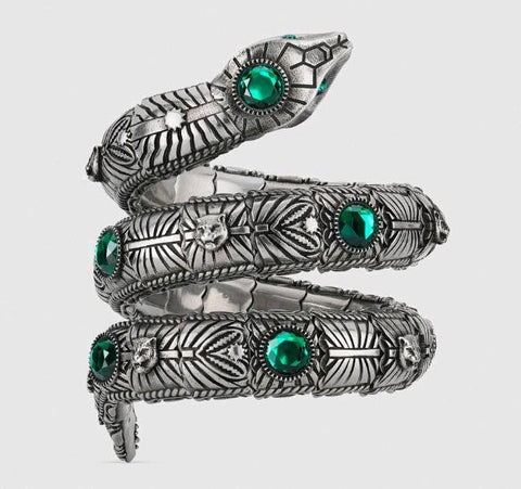 high quality tricyclic snake luxury designer jewelry men's bracelet