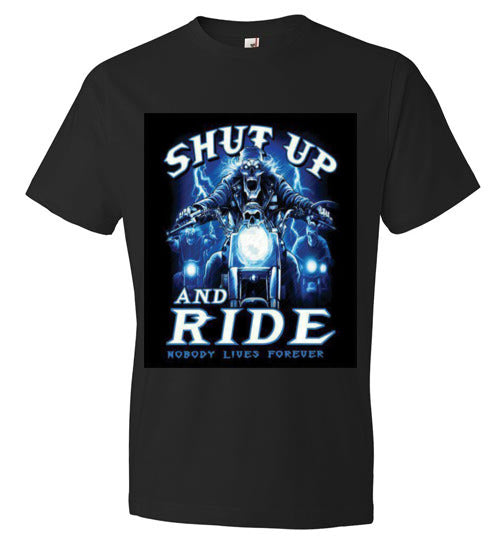 Shut up and Ride T-shirts