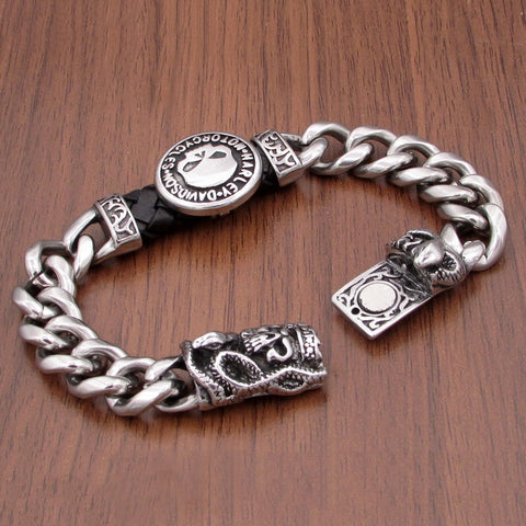 HD bracelet skull Father day gift