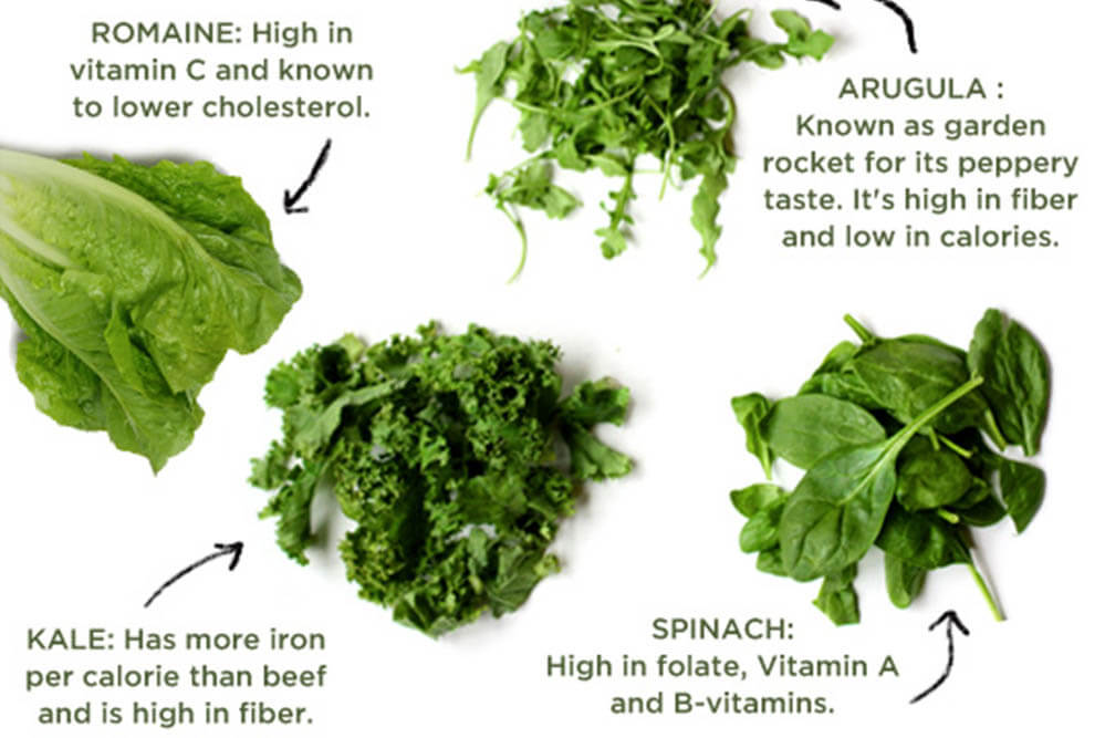 6 Incredible Health Benefits of Greens
