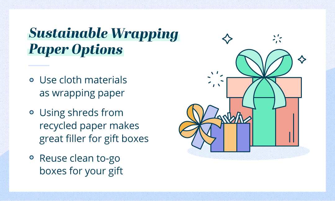 sustainable wrapping options during holidays
