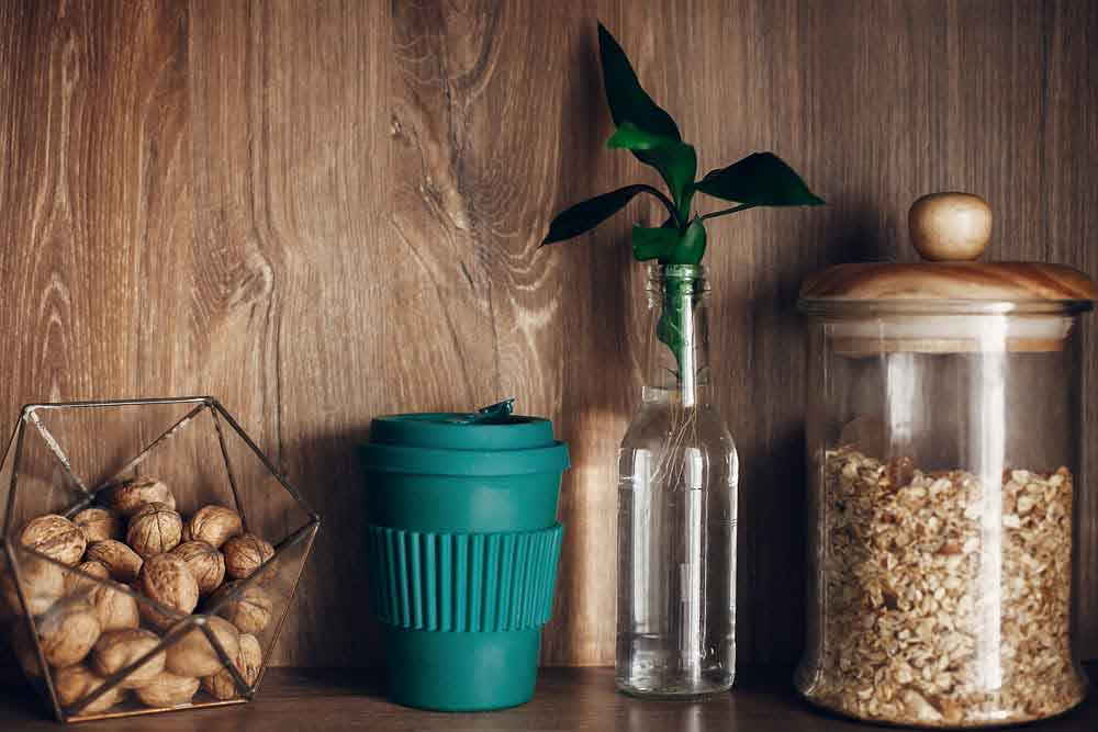 reusable products on how to reduce single use plastics at home