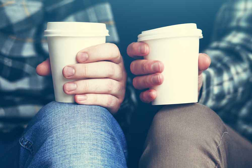how to reduce single use plastics at home coffee cups
