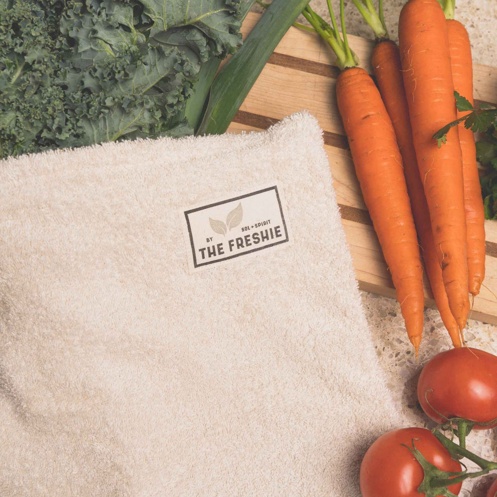 the freshie food saver bag keeps food fresh