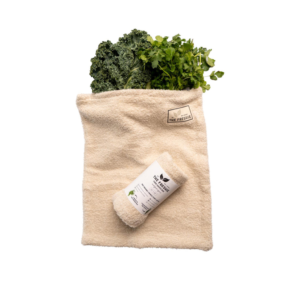 the freshie food saver bag top view
