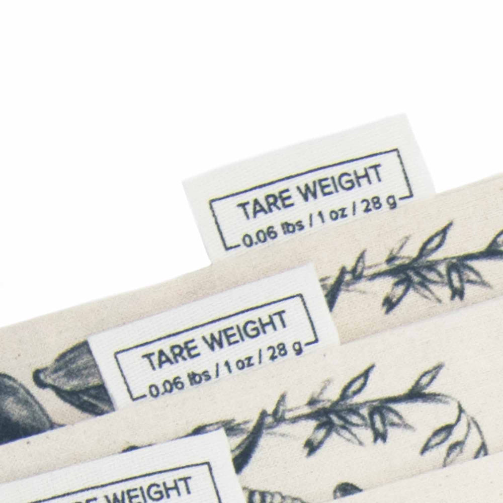 tare weight of reusable bulk bags