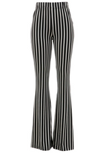 Load image into Gallery viewer, Ziggy Black & White Striped Bells