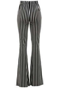 Ziggy Black & White Striped Bells