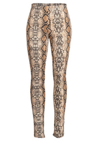 Venom Snake Skin Leggings