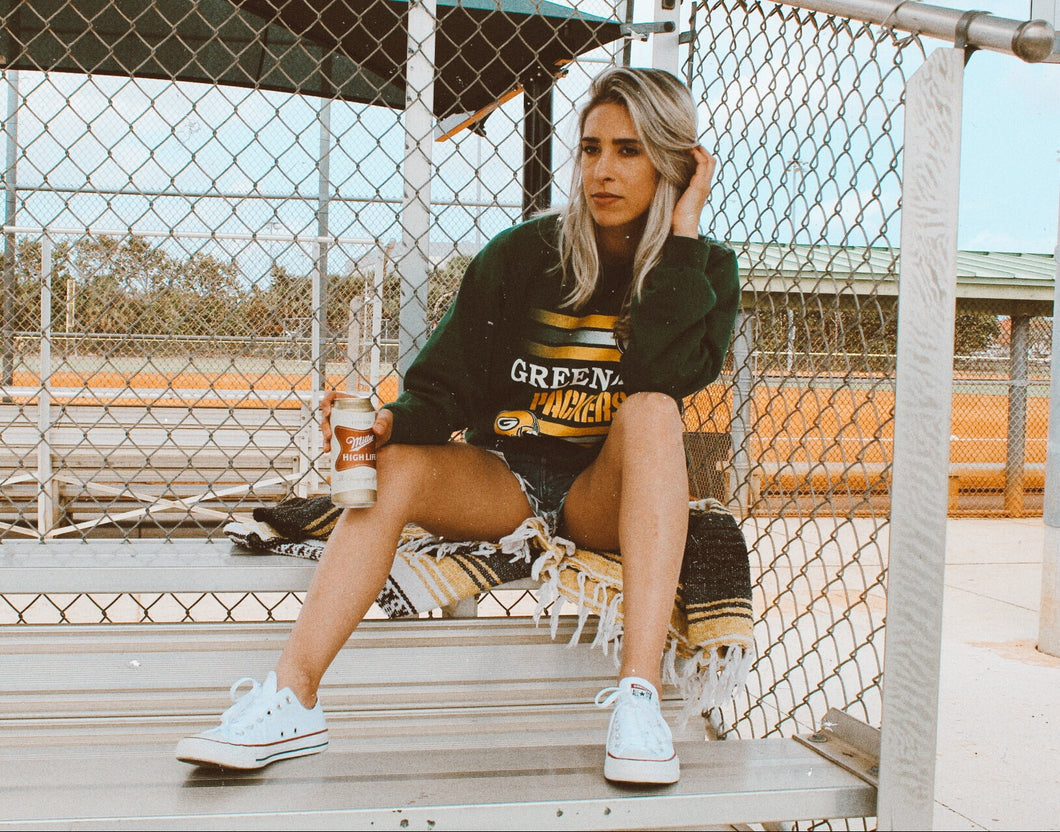 Vintage Green Bay Packers Sweatshirt