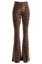 Load image into Gallery viewer, Nine Lives Leopard Bell Bottom Pants🐆
