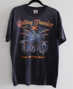 Rolling Thunder Ride to the Wall Tee
