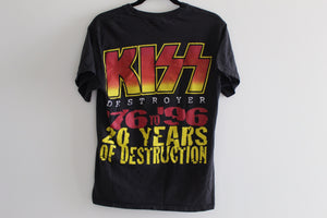 1996 20 Years of Destruction Kiss Tee