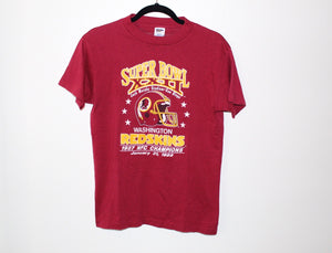 Super Bowl XXII Washington Redskins 1988 Tee Shirt