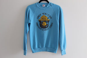 Smokey Bear Vintage Sweatshirt