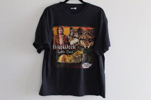 Dances With Wolves 2002 Bike Week Tee