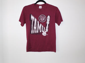 Texas A&M Vintage Football Tee Shirt