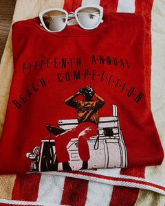 Vintage 1987 Nova Scotia Beach Competition Tee
