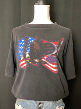 Load image into Gallery viewer, Harley Davidson Eagle & American Flag Tee