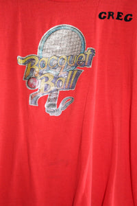 70's Raquet Ball Tee