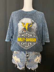 Harley Davidson Cape Fear Eagle Head Tee