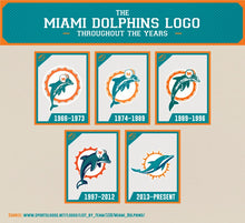 Load image into Gallery viewer, Miami Dolphins Vintage Tee Shirt