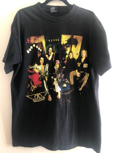 1997 Aerosmith Nine Lives Tour Tee