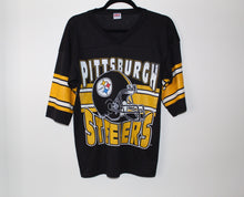 Load image into Gallery viewer, Pittsburg Steelers Vintage Jersey Tee Shirt