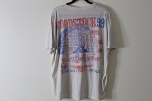 1999 Woodstock Tee shirt