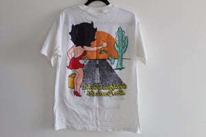1994 Get your kicks on route 66 Betty Boop Tee