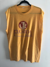 Load image into Gallery viewer, Vintage 1983 Florida State Seminoles Cut off Tank