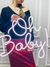 "Led Neon Sign ""Oh Baby"" - Creative Decor"