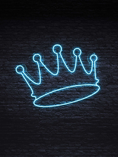 """Queen's Crown"" Led Neon Sign"