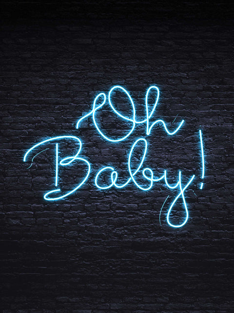 "Led Neon Sign ""Oh Baby"""